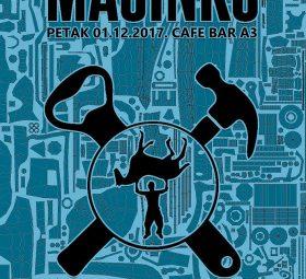 Mašinko - Plakat